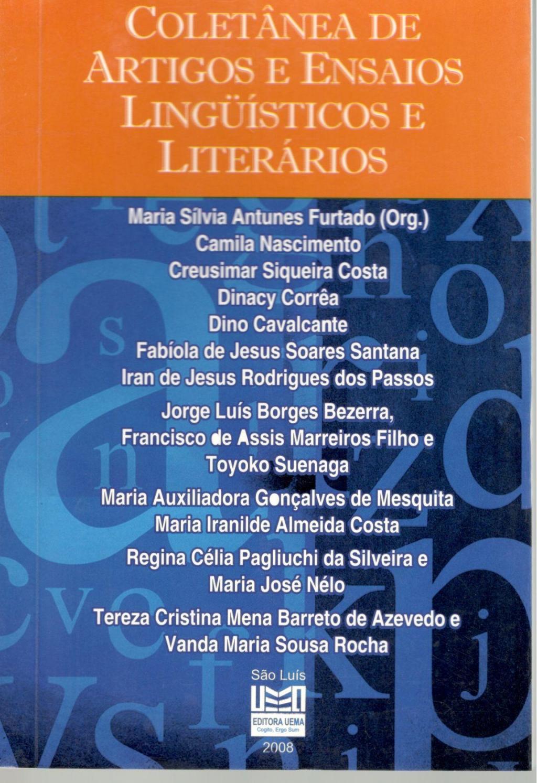Coletânea de artigos e ensaios linguísticos e literários (Esgotado)