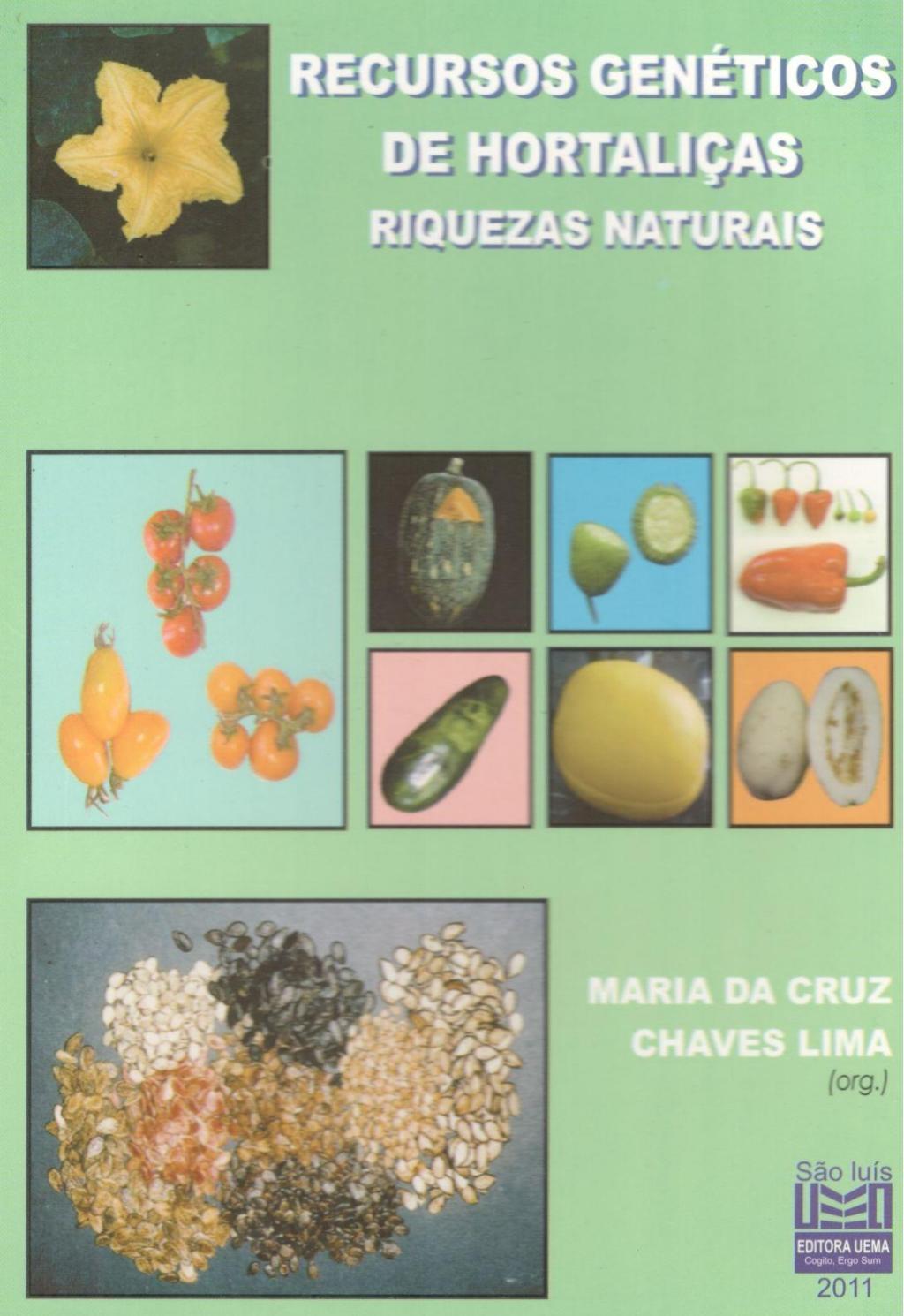Recursos genéticos de hortaliças (Esgotado)
