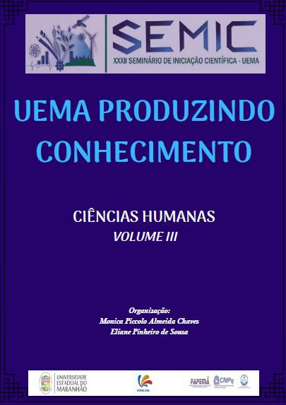 UEMA produzindo conhecimento: Ciências Humanas, volume 3 (DISPONÍVEL PARA DOWNLOAD)